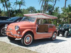 The Well Appointed House by Melissa Hawks: Fiat Jolly - The Ultimate Beach Ride! I WANT ONE!