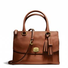 Coach :: LEGACY HARPER SATCHEL IN LEATHER I need this!