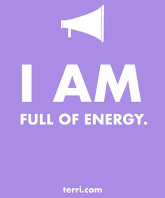 I AM FULL OF ENERGY! Your words are powerful and the words you speak about yourself are even more powerful. Discover what to say from God's Word about your freedom, faith, finances, family, fitness, and your future dreams and goals. Program your mind for success through positive declarations and affirmations to become happier, healthier, and more productive today! Click on the Pin to GET A FREE LIST OF MY DECLARATIONS AND AFFIRMATIONS!