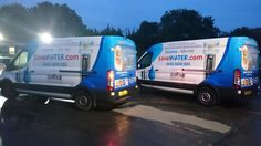 Love Water vans heading out early doors.. http://www.lovewater.com