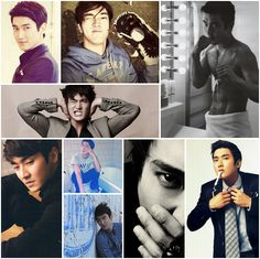 collage siwon - Buscar con Google