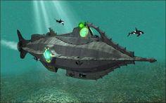 "Disney's ""Nautilus"" | Art by Eric Camden #nautilus"