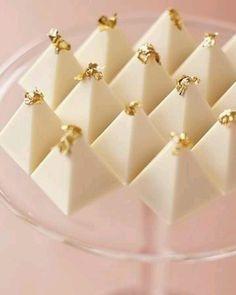 White pyramides