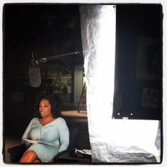 "Behind-the-scenes photo: Oprah Winfrey shoots her ""Note to Self"" WATCH it here: http://cbsn.ws/K48Ul9"