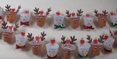 Advent calendars tinker with children - 10 craft ideas with instructions - Basteln mit kindern - Christmas Crib Ideas, Church Christmas Decorations, Diy Christmas Gifts For Kids, Christmas Countdown, Xmas Crafts, Diy Christmas Ornaments, Craft Stick Crafts, Halloween Crafts, Craft Ideas