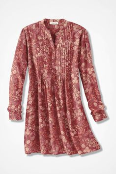 Cambridge Garden Tunic - Coldwater Creek