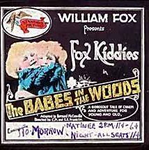The Babes in the Woods (1917) Poster