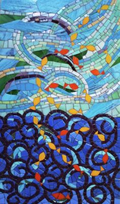 Mosaic 'Le Mistral' by Irit Levy