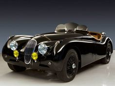 1954 Jaguar Roadster Maintenance of old vehicles: the material for new cogs/casters/gears could be cast polyamide which I (Cast polyamide) can produce Bugatti, Maserati, Ferrari F80, British Sports Cars, Classic Sports Cars, Classic Cars, Automobile, Jaguar Xk120, Jaguar Xj