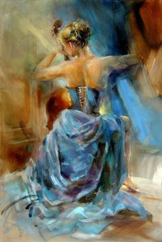 Painted by contemporary Russian Artist Anna Razumovskaya