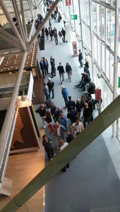 Cersaie people, day 4.. Grande interesse per lo stand di @listoneg  Pad 22 #Cersaie2015 #MCaroundCersaie