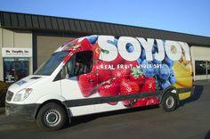 SOYJOY Sprinter van wraps | WrapVehicles.com