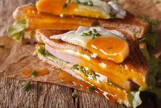 9 villámgyors melegszendvics, aminek nem tudsz ellenállni | Mindmegette.hu Dhal, Bologna, Sandwiches, Food Porn, Breakfast, Food Energy, Cooking Ideas, France, Croque Monsieur