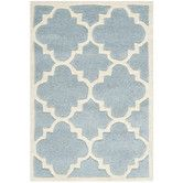 Found it at Wayfair - Chatham Blue & Ivory Area Rug II