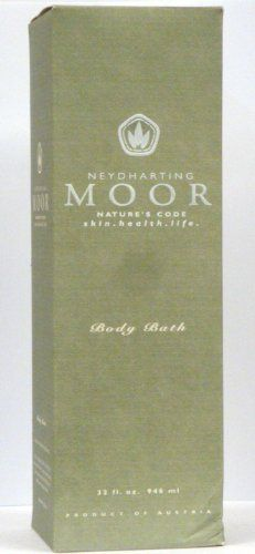 Neydharting Moor Nature's Code, Skin. Health. Life. Body Bath, 32 Oz by Neydharting Moor. $19.89. Product of Austria. Naturally Occuring Essential Oils and Fatty Acids Soothe and Tone Skin. Neydharting Moor Peat Embraces the Body for a Calming Effect. Compatible and effective for most skin types. Transforms the Bath Into a Relaxing Spa. Austria's legendary Neydharting Moor was formed at the base of one of Europe's most fertile valleys. Protected from outside influe...