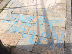 Vandalising, graffiti old with new