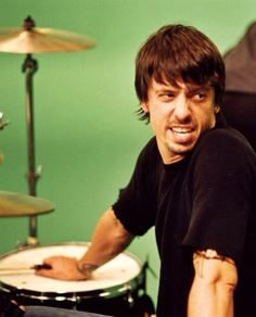 Dave Grohl, Young Man....