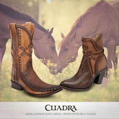 Así, sin más palabras, la foto perfecta. #Botas #CUADRA #Boots #Dama #Caballero