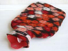 Wärmflasche : Wolle Blumenwiese von Boellkram auf DaWanda.com