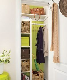 Merveilleux 19 Best Front Hall Closet Organization Images On Pinterest | Entryway Closet,  Front Closet And Home Ideas