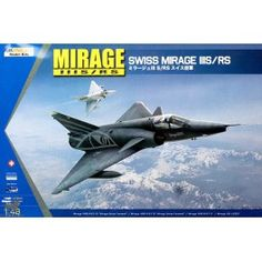 Maquette 1/48 - Mirage IIIS / RS - KINETIC