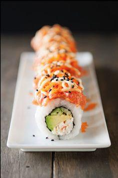 Sushi! I love it.....  www.thuiskoken.nu
