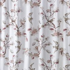 Target Home Shower Curtain Pink Bird Pretty Colors For A Bathroom