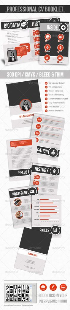 Professional Cv \/ Resume And Cover Letter Cover letter template - professional cv