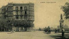 Plaza Circular, en el año 1910.
