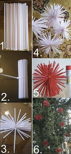 3. Christmas DIY decor: Outside tree decorations