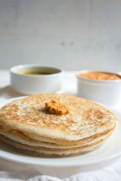 poha dosa recipe or atukula dosa recipe. poha dosa recipe is an andhra speciality is also known as atukula dosa. poha dosas are amazingly soft, spongy and porous. Andhra Recipes, Indian Food Recipes, Indian Snacks, Kerala Recipes, Breakfast Snacks, Breakfast Recipes, Breakfast Ideas, Poha Recipe, Tasty