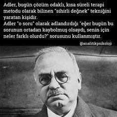 Bireysel Psikoloji ekolünün kurucusu, Avusturyalı psikiyatr #alfredadler #insanıtanımasanatı #bireyselpsikoloji #analitikpsikoloji #psikoloji