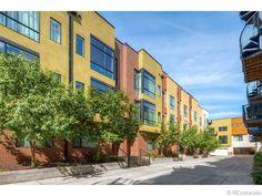 Denver Lofts for Sale - mid - RiNo district Denver Real Estate, Colorado Homes, Lofts, Real Estate Marketing, Sustainability, The Neighbourhood, Street, Loft Room, Loft