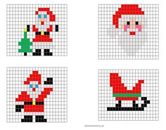 Tiny Cross Stitch, Xmas Cross Stitch, Cross Stitch Embroidery, Cross Stitch Patterns, Beaded Christmas Decorations, Christmas Perler Beads, Christmas Crafts, Christmas Knitting Patterns, Christmas Embroidery