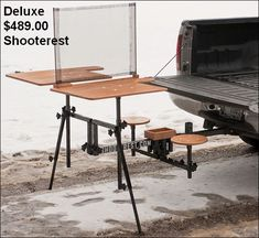 20 best home made shooting bench images shooting table portable rh pinterest com