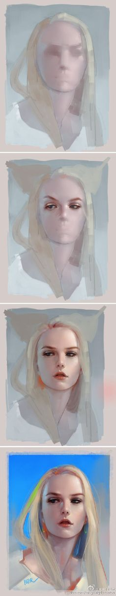 Digital Drawing Steps-by-Steps