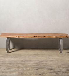 Zaun Arched Leg Dining Bench | VivaTerra