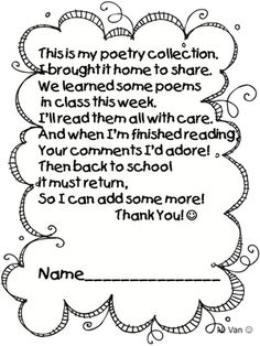 413463b2a695019a336d964e09fd955c book talk thursday ~ poetry collections fluency pinterest on first grade daily schedule template