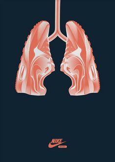 Nike Sneaker lungs