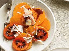 Dipps und Salate zum Grillen: Baumtomatensalat mit Süßkartoffeln
