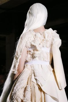 Comme des Garcons, Spring/Summer 2013   white on white