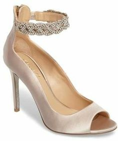 Embellished ankle cuff pump #heels #shoes #shopstyle #ssCollective #afflink