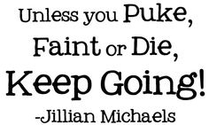 OH Jillian, what I would give to train with her!  . . . yeah right!   She's kill me or I would kill her first . . .  LOL