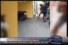 Asesinan Ladron En Brasil Por Unos Vecinos Que Tomaron Justicia En Sus Manos #Video