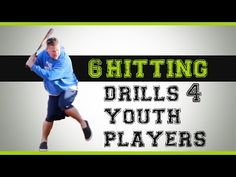 Here is 6 baseball hitting drills for youth players. If you're looking for hitting drills, then you're in the right place. Baseball Tips, Better Baseball, Baseball Mom, Baseball Players, Baseball Field, Baseball Boyfriend, Baseball Videos, Dodgers Baseball, Baseball Stuff
