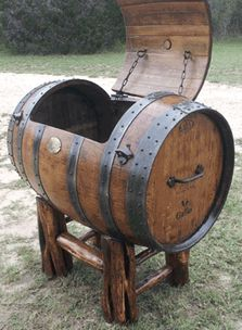 'The Original Texas Hill Country Wine Barrel Party Cooler