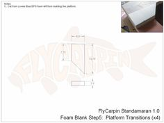 Standamaran SUP Plans Foam Blank Step 5