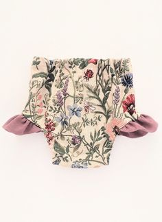 Pretty Handmade Floral Flutter Bloomers | moonroomkids on Etsy