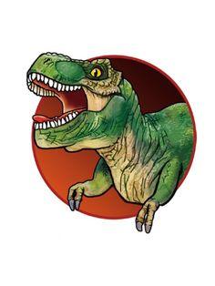 Tiranosaurio Rex Tatuaje Temporal