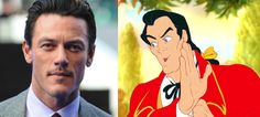 Luke Evans is in negotiations to play Gaston
